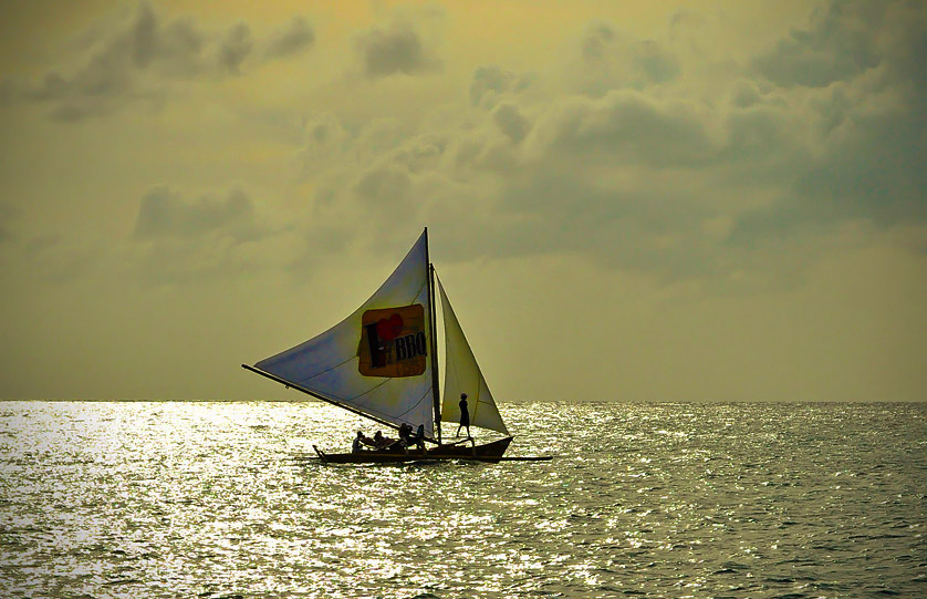 Sunset Paraw Sailing